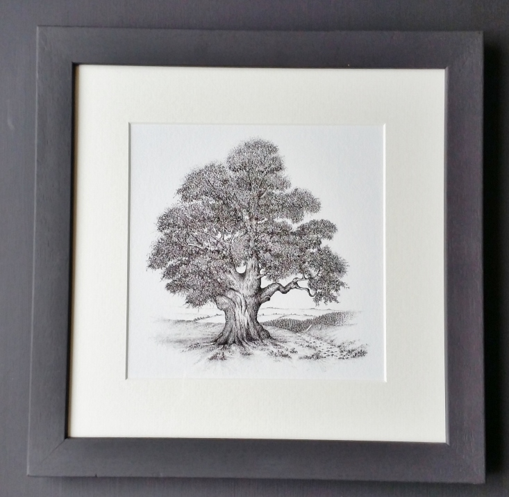 oaktree-framed-print-1
